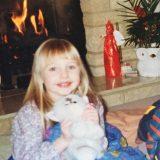 Nessa aged 5